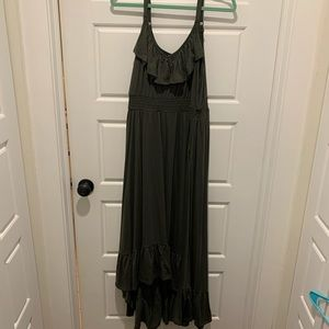 NEW WITH TAGS Green Hi-low Torrid Dress!